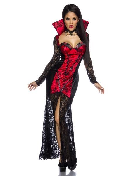 Sexy costume da vampiro nero e rosso ALTRI BRAND in vendita su Tangamania Online