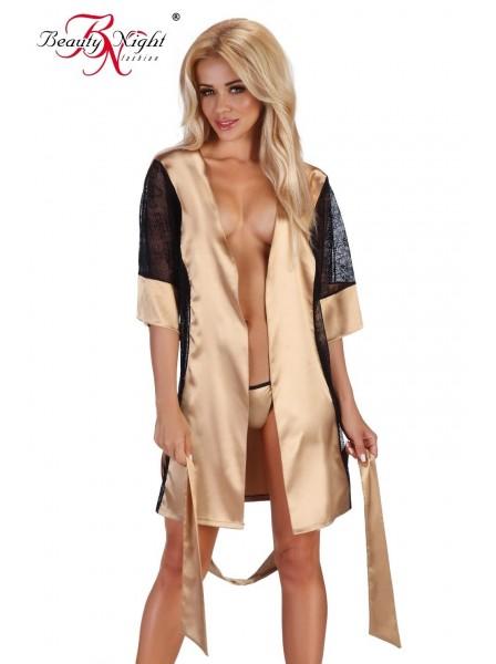 Stephanie vestaglia dorata BeautyNight in vendita su Tangamania Online