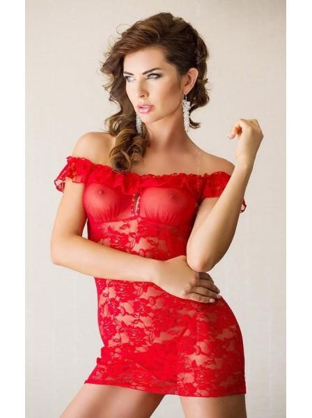 Veronica chemise rossa Softline in vendita su Tangamania Online