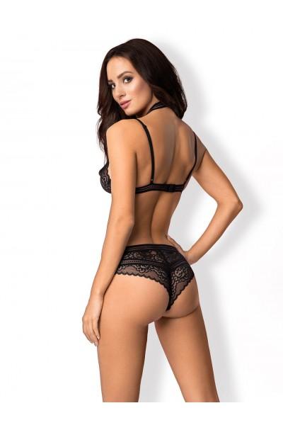 Ailay sexy body con girocollo Obsessive Lingerie in vendita su Tangamania Online