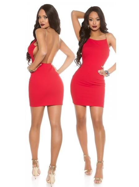 Sexy Abitino con spalline a catenina e schiena nuda in due colori ALTRI BRAND in vendita su Tangamania Online