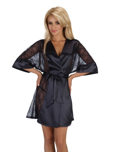 Stephanie vestaglia nera BeautyNight in vendita su Tangamania Online