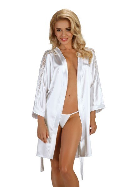 Alexandra vestaglia bianca BeautyNight in vendita su Tangamania Online