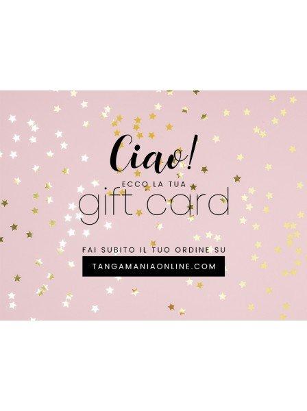 Gift Card  in vendita su Tangamania Online