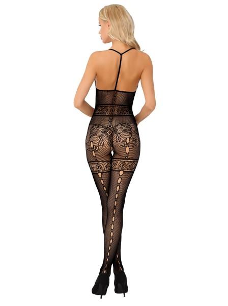 Serminsa bodystocking aperta all'inguine con schiena nuda Livia Corsetti in vendita su Tangamania Online