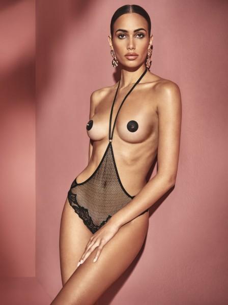 London Playsuit body senza coppe con perle  Bracli in vendita su Tangamania Online