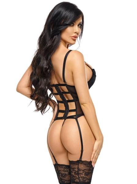 Monica corsetto top in tulle e velluto BeautyNight in vendita su Tangamania Online
