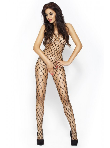 Bodystocking a rete larga aperta all'inguine Passion in vendita su Tangamania Online