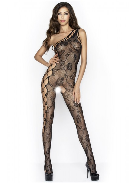 Bodystocking monospalla aperta all'inguine in tre colori Passion in vendita su Tangamania Online