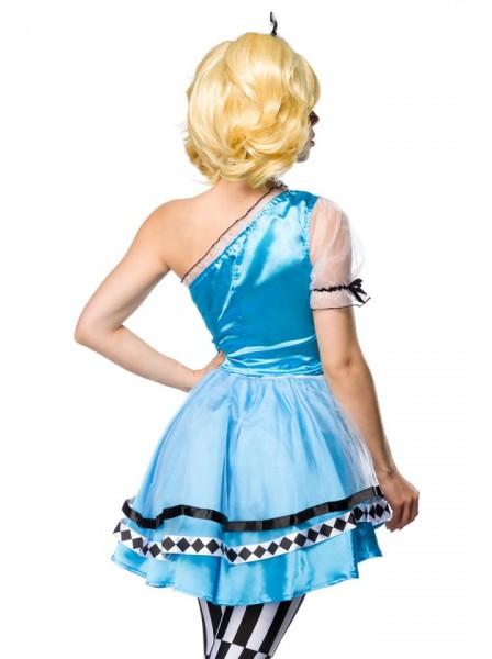 Costume Alice in Wonderland quattro pezzi Mask Paradise in vendita su Tangamania Online
