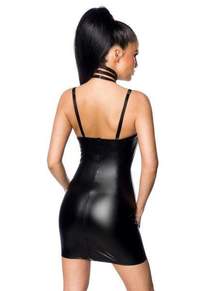 Abitino wetlook con sexy stringhe e ferretto Saresia in vendita su Tangamania Online