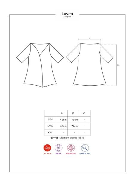Luvae vestaglia Obsessive Lingerie in vendita su Tangamania Online