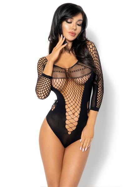 Lucelia body in microfibra e rete BeautyNight in vendita su Tangamania Online