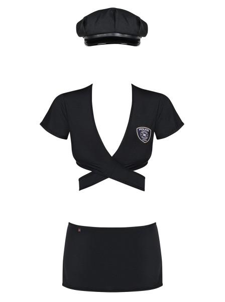 Police Uniform costume con accessori Obsessive Lingerie in vendita su Tangamania Online