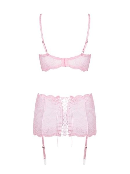 Girlly completino intimo coordinato tre pezzi Obsessive Lingerie in vendita su Tangamania Online