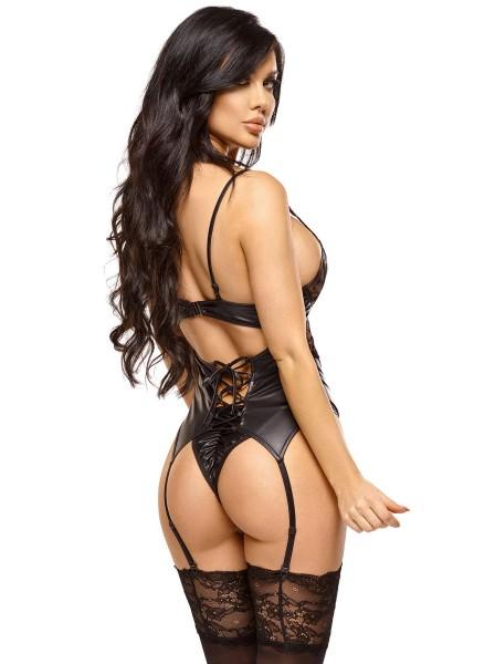 Shaina corsetto e perizoma BeautyNight in vendita su Tangamania Online