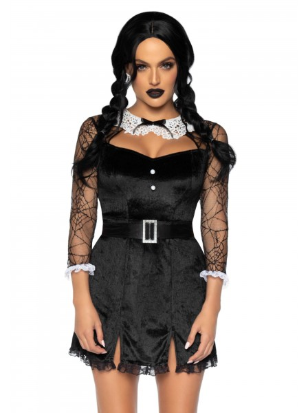 Costume Halloween 2 pezzi Wednesday Hottie Leg Avenue in vendita su Tangamania Online