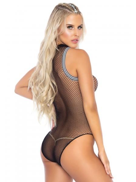 Body a rete con cerniera zip Leg Avenue in vendita su Tangamania Online