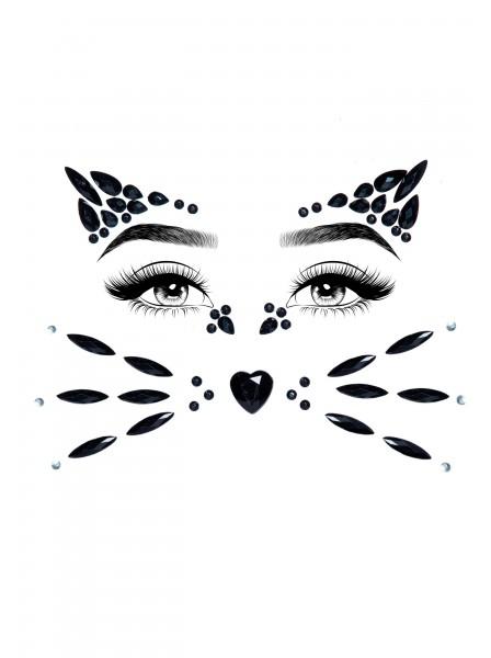 Animal Face gioiello adesivo per il viso Leg Avenue in vendita su Tangamania Online
