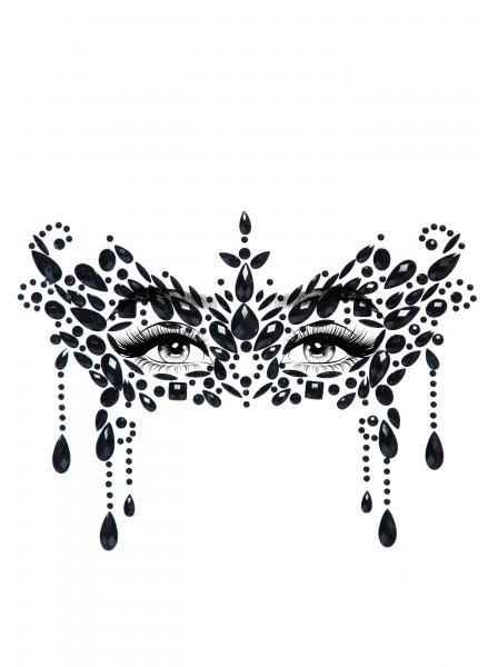Masquerade Face gioiello adesivo per il viso Leg Avenue in vendita su Tangamania Online