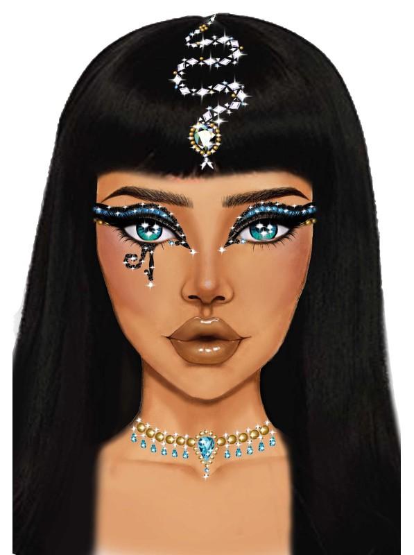 Cleopatra Face gioiello adesivo per il viso Leg Avenue in vendita su Tangamania Online