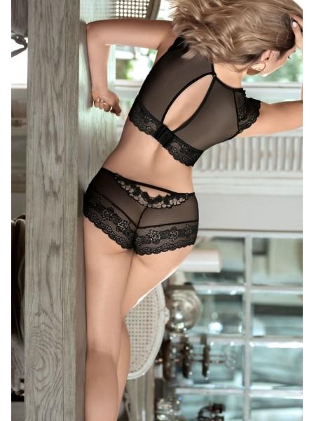 Ellba Romantici shorts in tulle e pizzo elasticizzato  Roza Lingerie in vendita su Tangamania Online