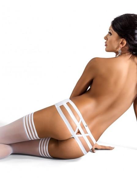 Sexy perizoma a fasce decorato da cristalli modello Amore  Roza Lingerie in vendita su Tangamania Online