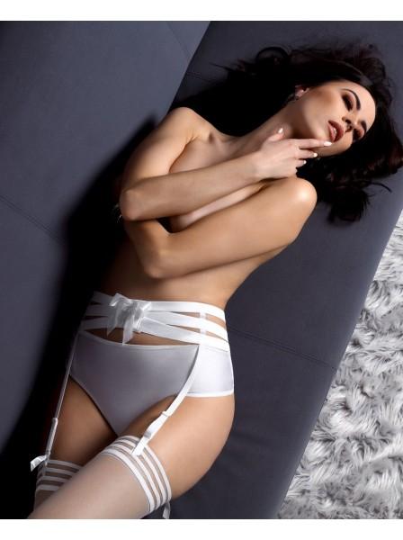 Sexy reggicalze a fasce con cristalli lucidi modello Amore Roza Lingerie in vendita su Tangamania Online