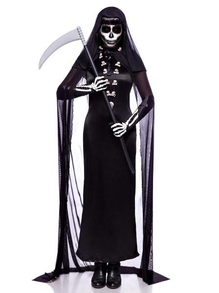 Mostruoso abito per Halloween Lady Death completo Mask Paradise in vendita su Tangamania Online