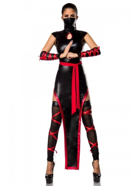 Hot Ninja costume completo di accessori  Mask Paradise in vendita su Tangamania Online