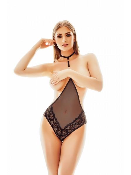 Xanthia body in tulle senza coppe Anais in vendita su Tangamania Online