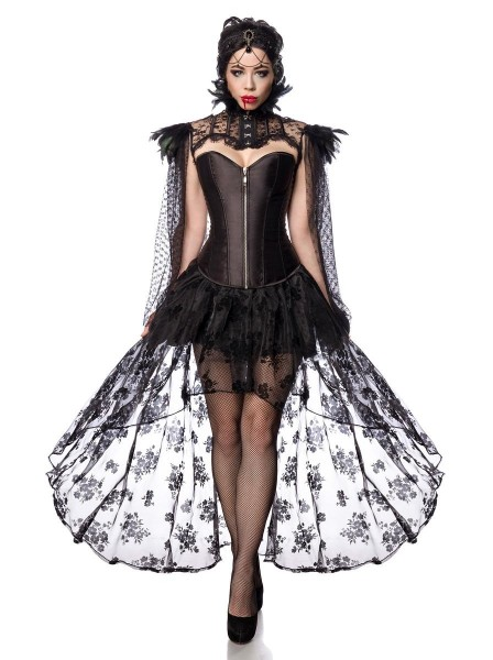 Vampire Queen costume Halloween con accessori Mask Paradise in vendita su Tangamania Online