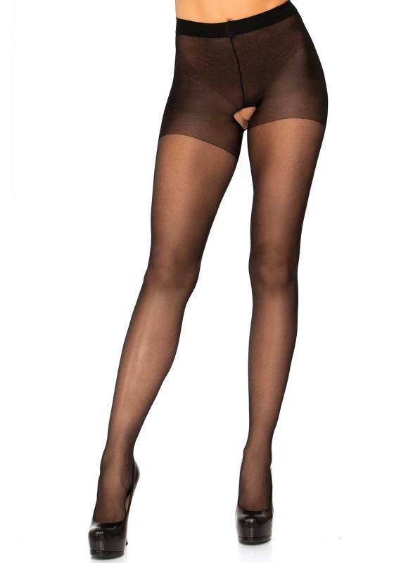 Sexy collant aperti all'inguine in due colori Leg Avenue in vendita su Tangamania Online