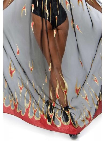 Mantello e corna da diavoletta Leg Avenue in vendita su Tangamania Online