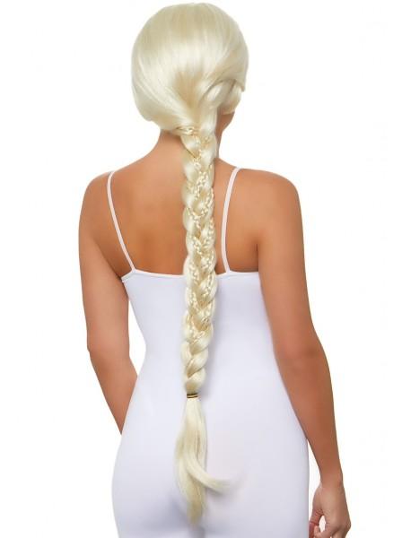 Parrucca bionda con lunga treccia Leg Avenue in vendita su Tangamania Online