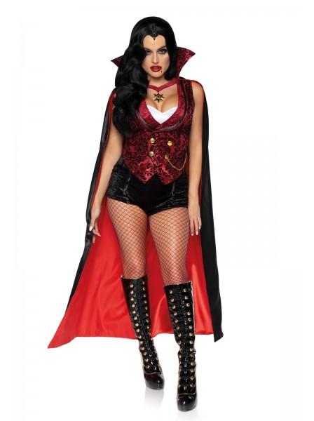 Costume da sexy Vampira in 4 pezzi Leg Avenue in vendita su Tangamania Online