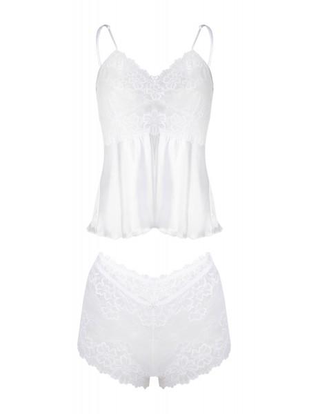 Alexandra Elegante e sexy completo Bianco DKaren in vendita su Tangamania Online