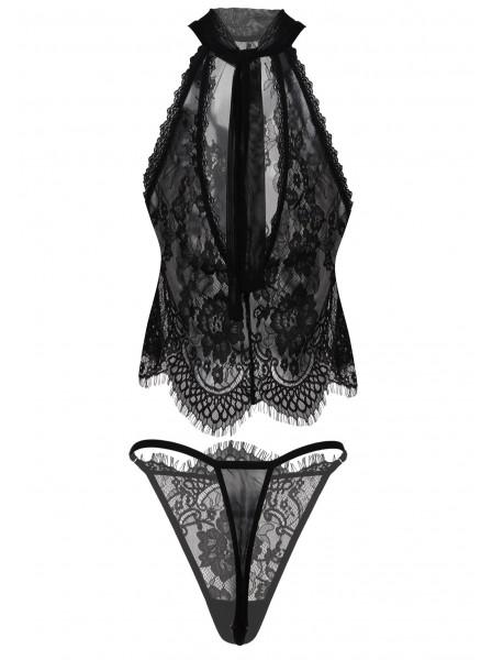 Olimpia Sensuale e sexy set donna in morbido pizzo  DKaren in vendita su Tangamania Online