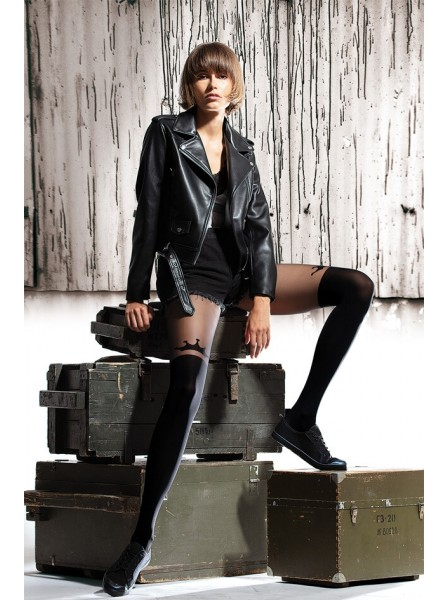I'm Queen Collant moda 50 denari NOQ Calze e Collant in vendita su Tangamania Online