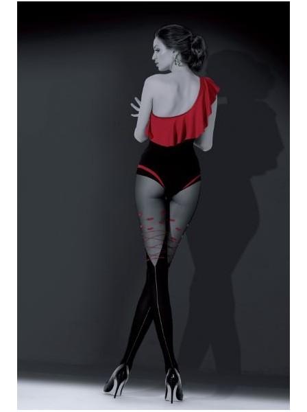 Kiss Kiss Collant con cuoricini 50 denari NOQ Calze e Collant in vendita su Tangamania Online