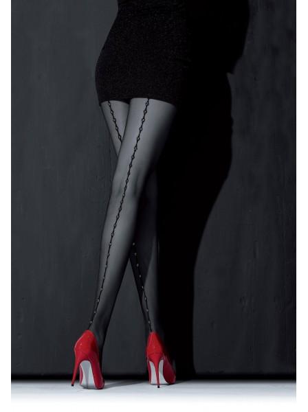 Loreley Collant moda con cucitura in lurex NOQ Calze e Collant in vendita su Tangamania Online