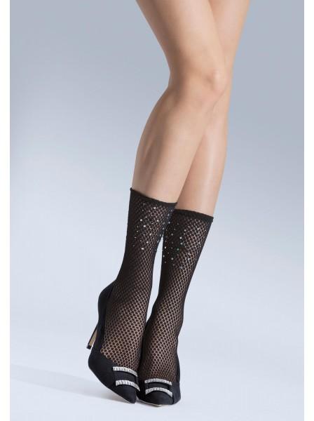 Calzini glamour 05 con strass NOQ Calze e Collant in vendita su Tangamania Online