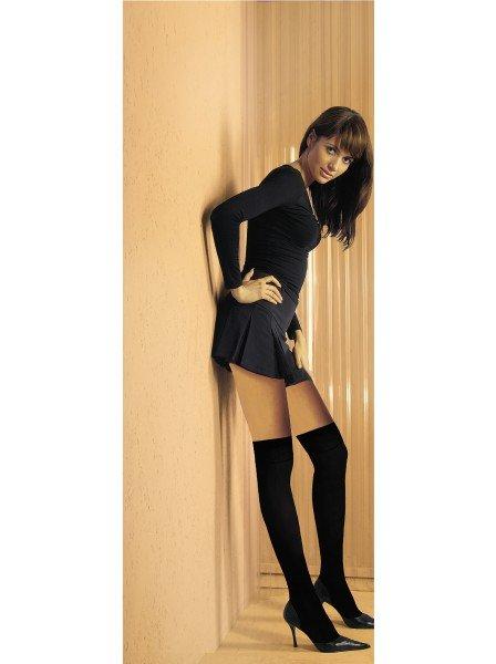 Sonya Calze Parigine sopra al ginocchio in microfibra 40 denari in due colori NOQ Calze e Collant in vendita su Tangamania On...