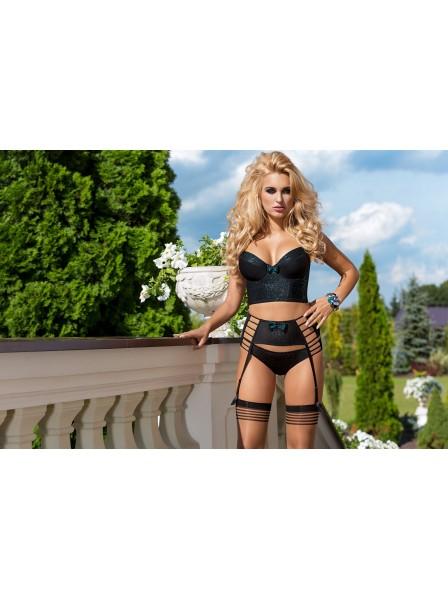 Brassiere a corsetto in tessuto broccato Ilaris  Roza Lingerie in vendita su Tangamania Online