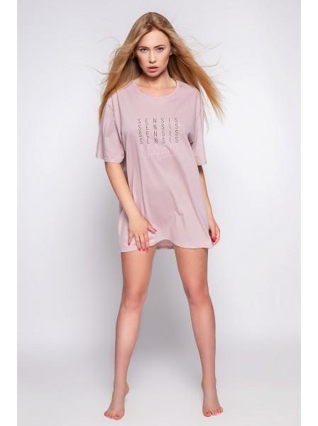 Camicia da notte 100% cotone modello Nessa  Sensis in vendita su Tangamania Online
