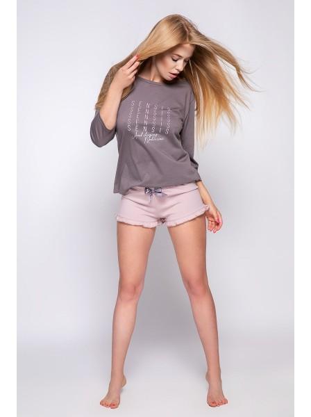Pigiama 100% cotone modello Sadie  Sensis in vendita su Tangamania Online