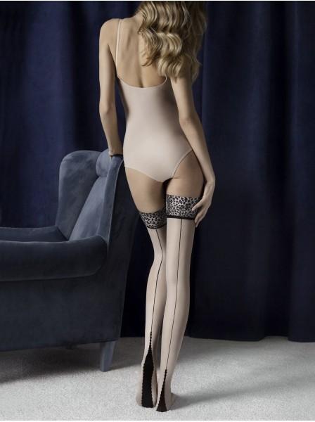 Calze autoreggenti 20 denari modello Lust Fiore in vendita su Tangamania Online