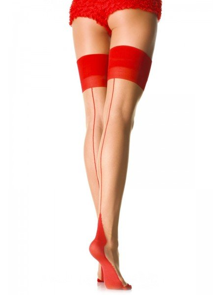 Calze con tallone Cuban Heel Leg Avenue in vendita su Tangamania Online