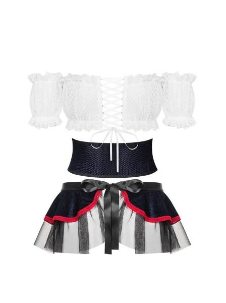 Slaviana sexy costume con accessori Obsessive Lingerie in vendita su Tangamania Online
