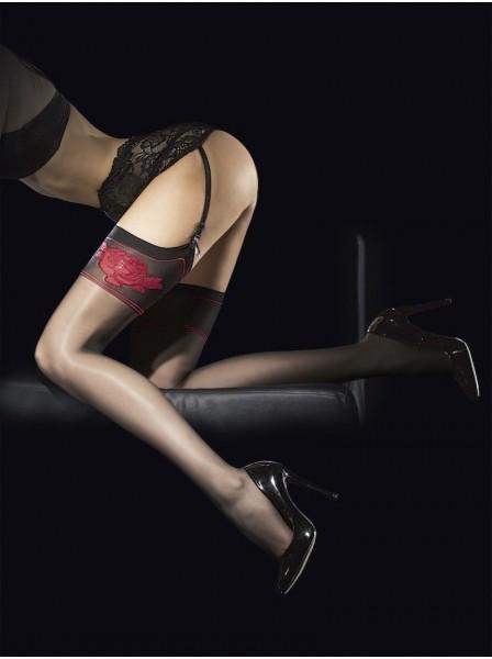 Calze per reggicalze modello Etheris Fiore in vendita su Tangamania Online